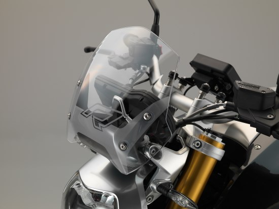 BMW R 1200 R detail ruit
