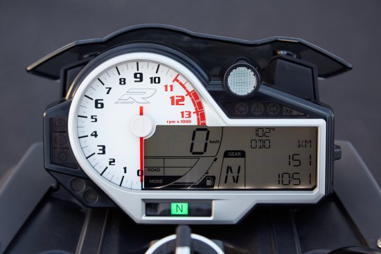 BMW S 1000 R dash close
