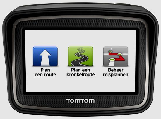 TomTom Rider FRONT MENU ICONS NL lr