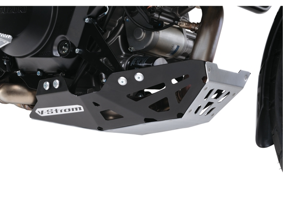 V-Strom 1000 ABS acc aluminum engine under cowling