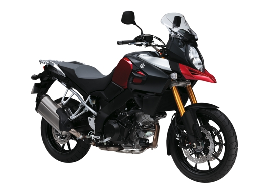 V-Strom 1000 ABS 3kw rood