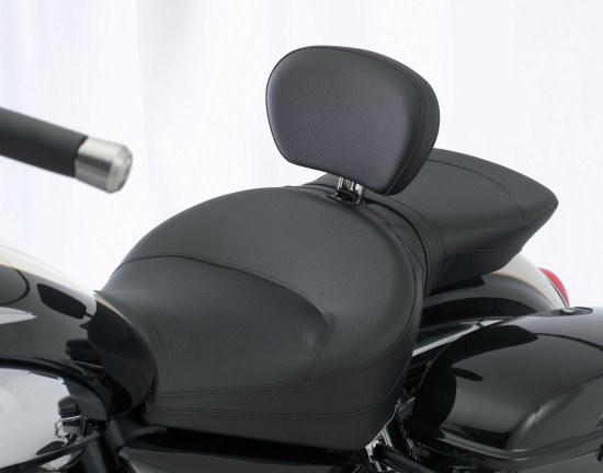 Longhaul Touring Seat with Adjustable Rider Backrest