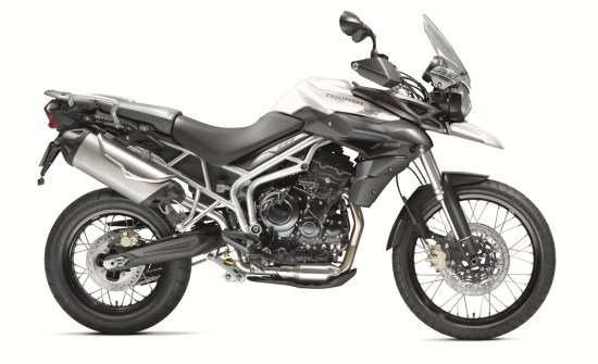 Tiger 800XC Crystal White