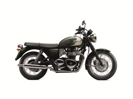 Bonneville T100 Forest Green